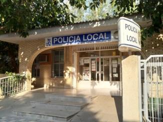 Retén de la Policía Local de la Pobla.