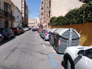 Desde el Partido de Requena y Aldeas solicitamos por registro de entrada en el Ayuntamiento de Requena la colocación de más contenedores de residuos en la Calle San Agustín a petición de los hosteleros de la zona.