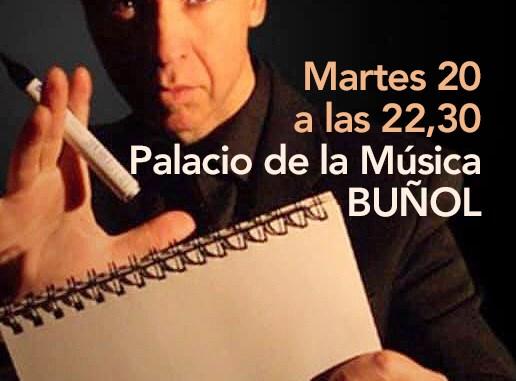 Palacio de la Música, hoy a las 22,00 h.