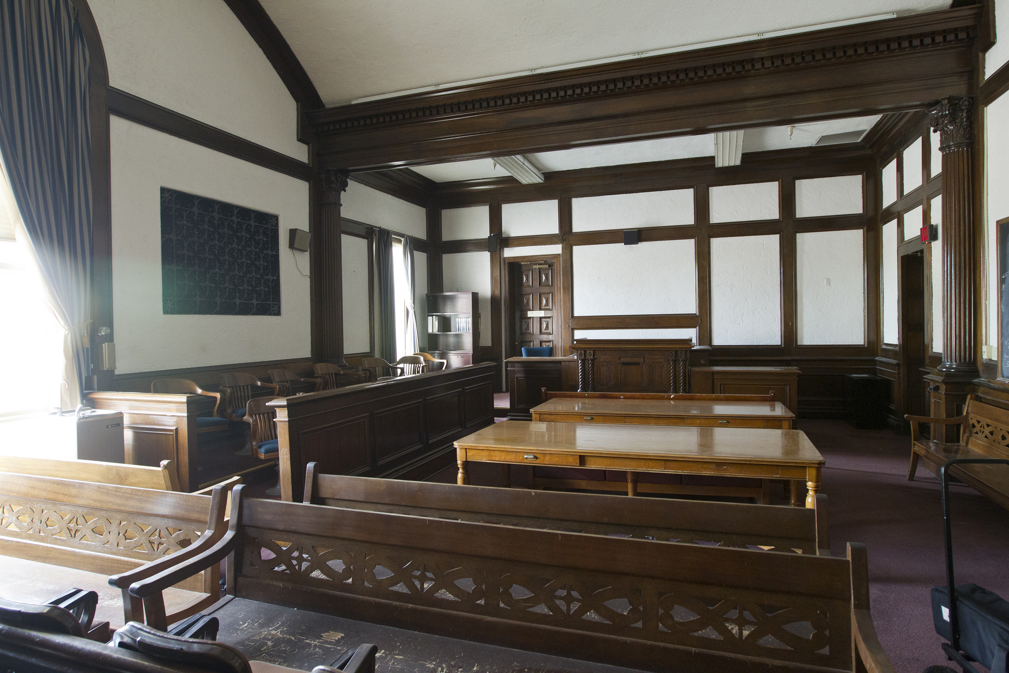 Photos Inside the historic Pima County Courthouse