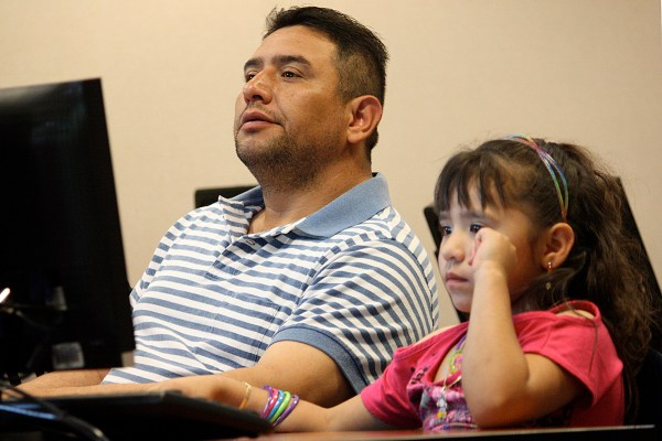 Latino Parents Dream Of Education Children