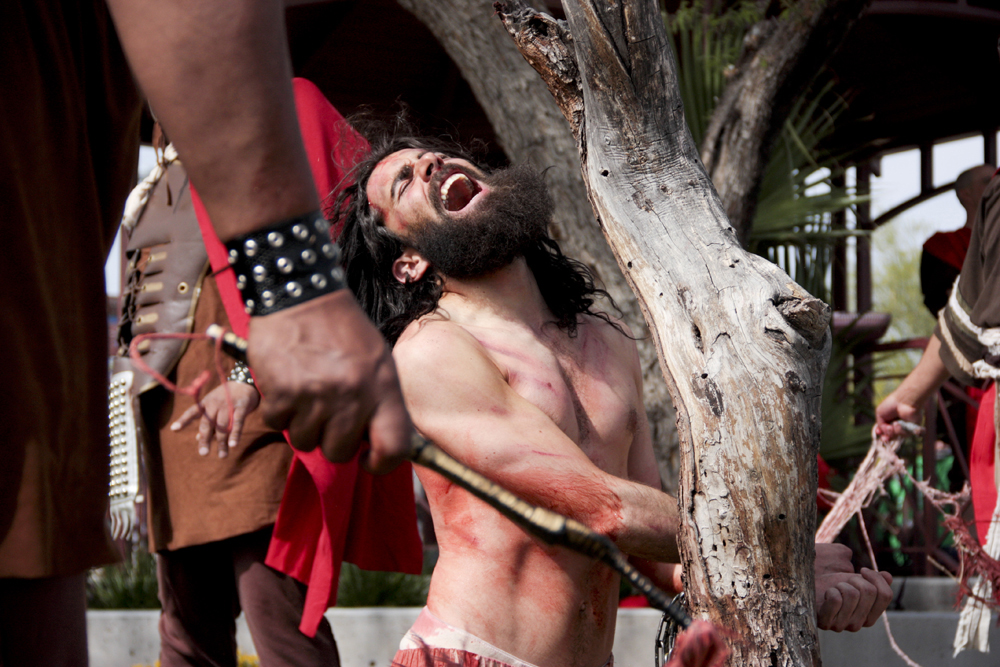 Good Friday passion play brings crucifixion to life