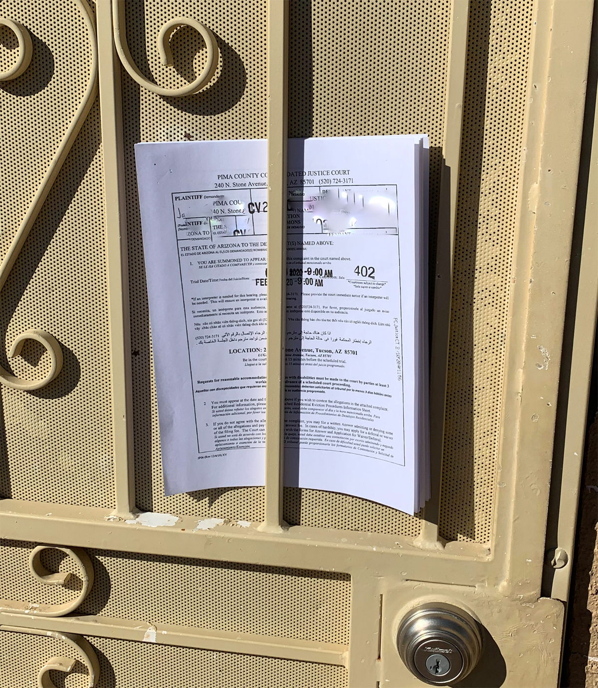 Pima County constables refuse to carry out evictions, citing ...