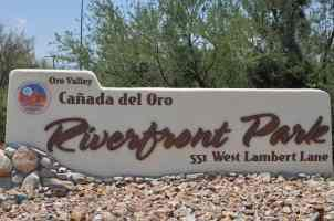 Canada Del Oro Riverfront Park in Oro Valley