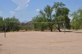 sand volleyball court at Canada Del Oro Riverfront Park