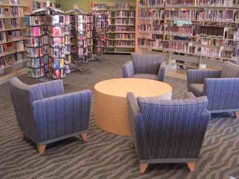 seating at Kirk-Bear Canyon Library