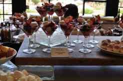Berry Martinis at AZUL