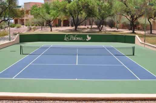 Tennis Court at Westin La Paloma