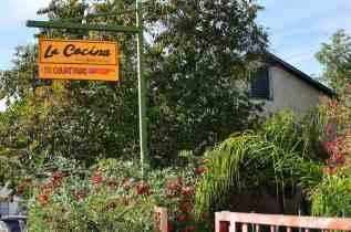 La Cocina Courtyard Sign