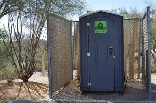 Case Park porta potty