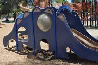 Gene C Reid Park Dinosaur Slide