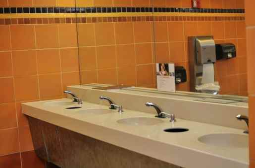 Park Place Mall restrooms