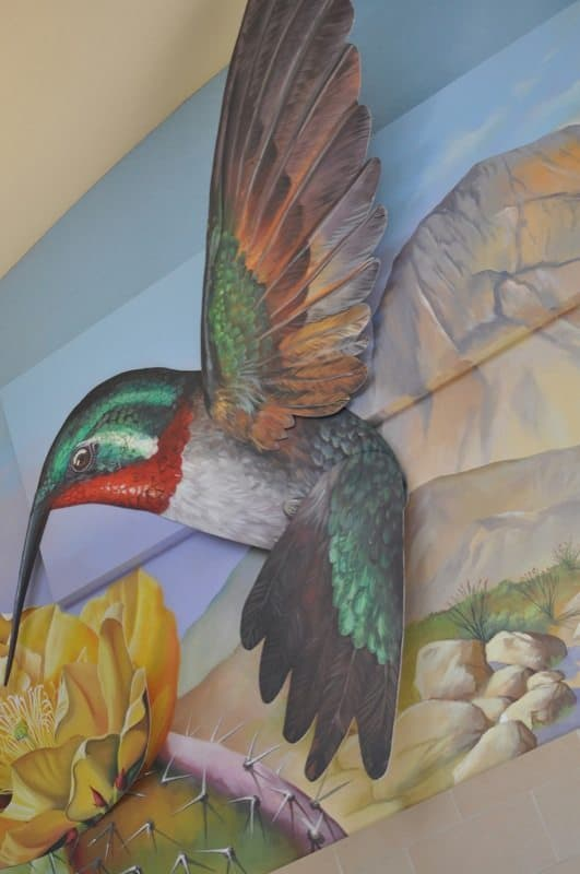 Park Place Mall wall art