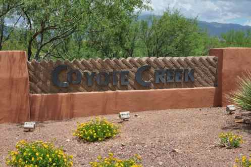 Coyote Creek is a master-planned community in Vail, Arizona