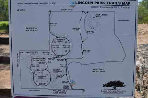 Lincoln Park Trails Map