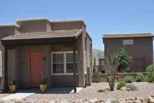 Some Civano homes have adjacent guest houses