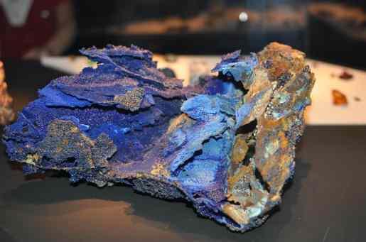 geology exhibit at Arizona-Sonora Desert Museum