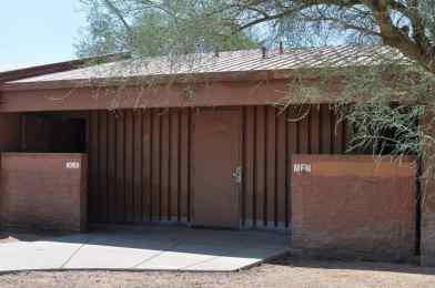 restrooms at Abraham Lincoln Regional Park