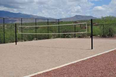 sand volleyball court at Coyote Creek Recreation Center