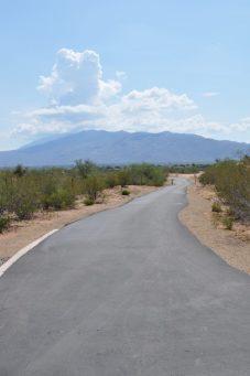 walking path at Abraham Lincoln Regional Park