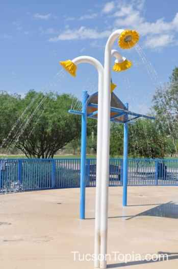 Brandi Fenton splash pad is open 7am to 7pm