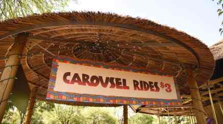 Carousel Rides Reid Park Zoo