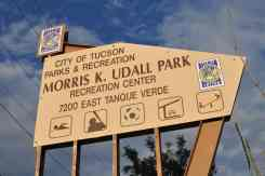 Morris K Udall Park is located on the East Side of Tucson