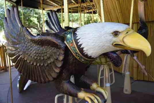 eagle carousel Reid Park Zoo