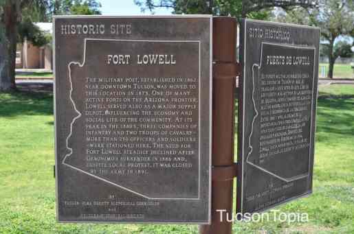 Fort Lowell Historic Site in Tucson