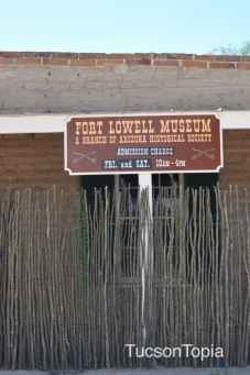 Fort Lowell Museum is open on Fridays & Saturdays