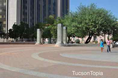 Jazome Plaza in Downtown Tucson