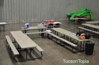 birthday party area at Get Air Tucson