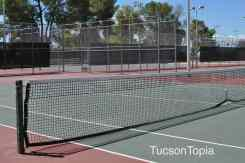 tennis court at Fort Lowell Park