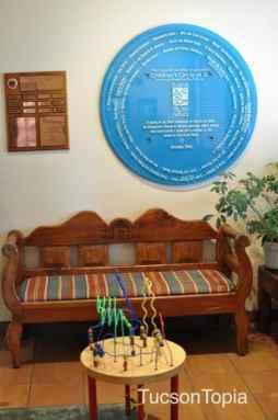 Casa de los Ninos waiting room