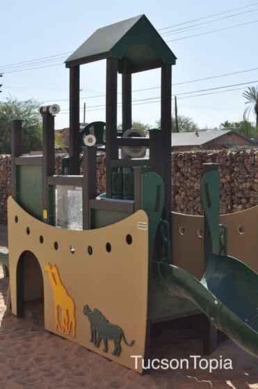 Kindergarten playground at BASIS Tucson
