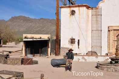 Old Tucson gunfights