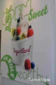 Yogurtland at 2800 N Campbell