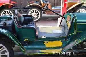 antique car at Old Tucson