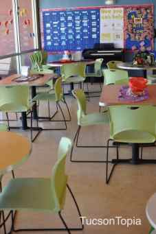 dining room at Ronald McDonald House Tucson