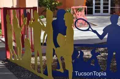gate at Ronald McDonald House Tucson
