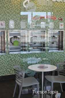 interior of Yogurtland on Campbell