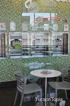 interior of Yogurtland on Campbell