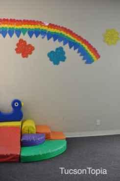 play area at Casa de los Ninos