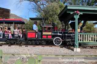 train at Old Tucson