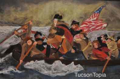 Teacher-created artwork at Tucson Waldorf School
