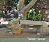 bunny-bench-at-Tucson-Botanical-Gardens
