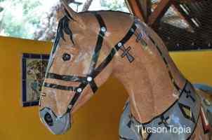 horse at Tucson Botanical Gardens