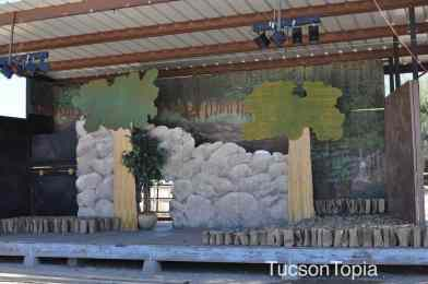 outdoor stage at Tucson Waldorf School