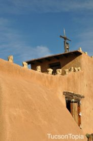 adobe structures at DeGrazia Gallery in the Sun