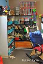 book nook in an elementary classroom at Sonoran Science Academy Tucson
